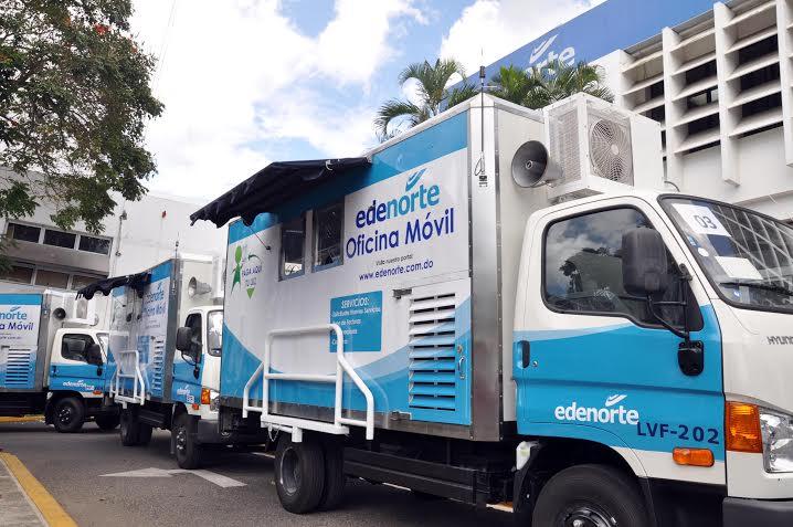 Ultimo diario edenorte anuncia puesta en funcionamiento for Oficinas moviles
